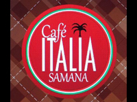 Best Restaurant & Bar by the waterfront of the malecon Samana Dominican Republic - Come meet your friends at Cafe Italia Bar Restaurant in Samana town !