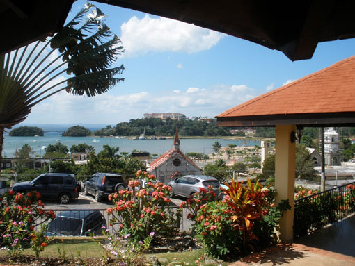 Chino Hotel and Restaurant in the Town of Samana, Hotel and Restaurant with view of Samana Marina and Bay.