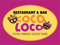 One of the Best Place to Eat Breakfast, Lunch and Dinner while vacationing in beautiful Samana : Coco Loco Restaurant & Bar by the Malecon in Samana DR.