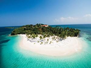 Cayo Levantado Samana Dominican Republic  Bacardi Island Samana