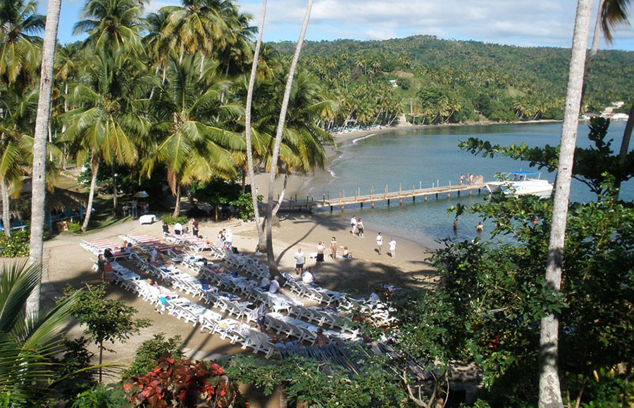 Playa Anadel - 4 Kilometers from the town of Samana.