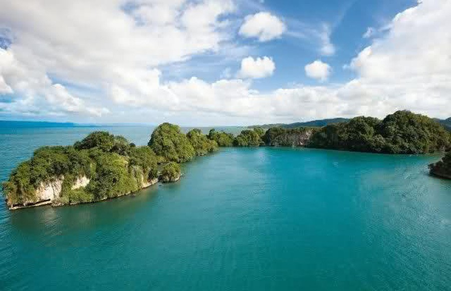 Los Haitises National Park - 15 Kilometers away accross Samana Bay.