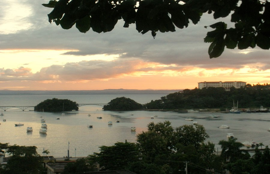 Another beautiful sunset on our charming town of Samana.