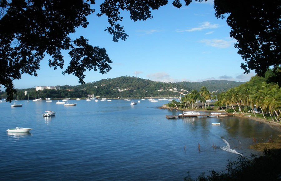 The peacefull town of Samana viewed from another angle.