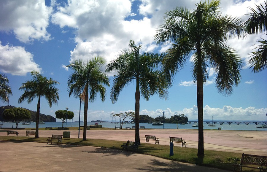 The Malecon - Waterfront Walking Promenade of Samana.
