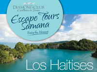 Tour Agency in Samana - Tour Operator in Samana Dominican Republic. Do the Best Excursions & Tours in Samana DR : Zipline Samana Tour, Los Haitises National Park Tour, Whale Watching Tour, VIP Playa Rincon Tour, Cascada Salto El Limon Waterfall Tour, Private Boat Tour in Samana Bay, Deep Sea Sport Fishing in Samana, Helicopter Sightseeing Tour over Samana, Cayo Levantado Bacardi island Tour + Sea Lions in Samana Dominican Republic.