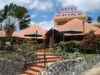 Chino Hotel and Restaurant in the Town of Samana. Samana Small Hotel overlooking the Bay of Samana. Samana Town has a good choice of Cheap Small Hotels to choose from.