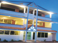 Small Hotel in Samana Dominican Republic. Samana Spring Hotel - Best Small Budget Hotel in Town of Santa Barbara de Samana, Cheap Low Price Small Hotel in Samana City.